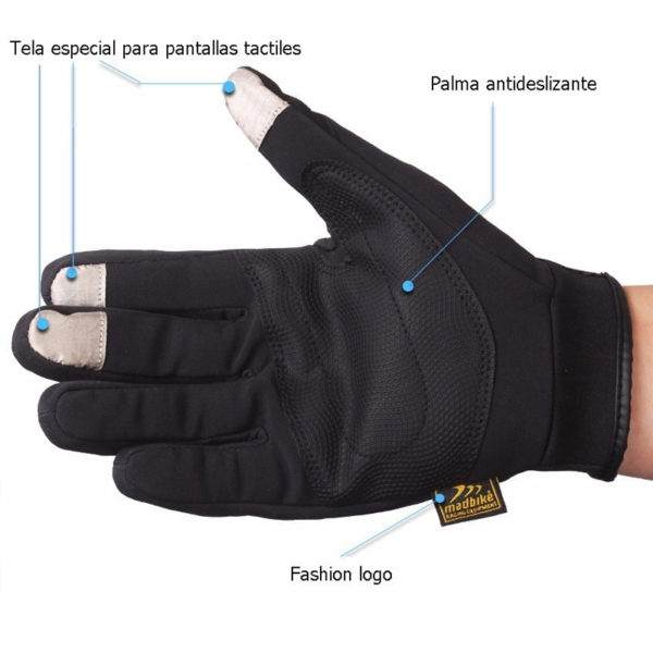 Guantes City Tactil